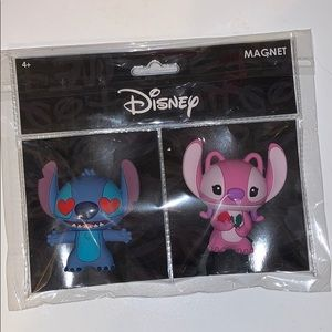 Disney Stitch and Angel magnet 2 pack